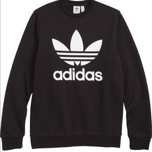 Adidas Trefoil Logo Sweatshirt XS